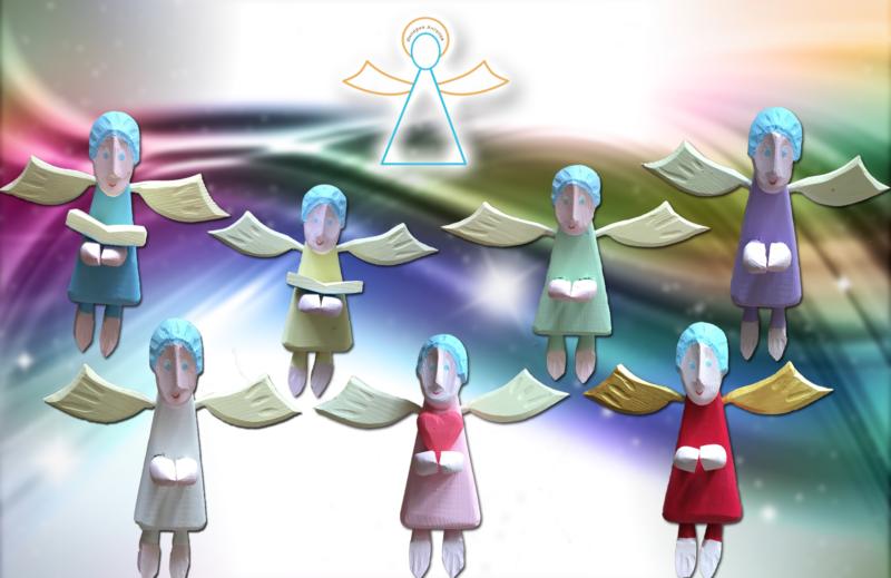 Чудо-Ангелы от семейного творческого проекта «Империя Ангелов»